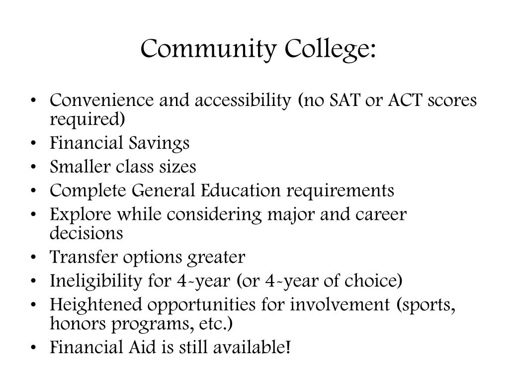 Community College: