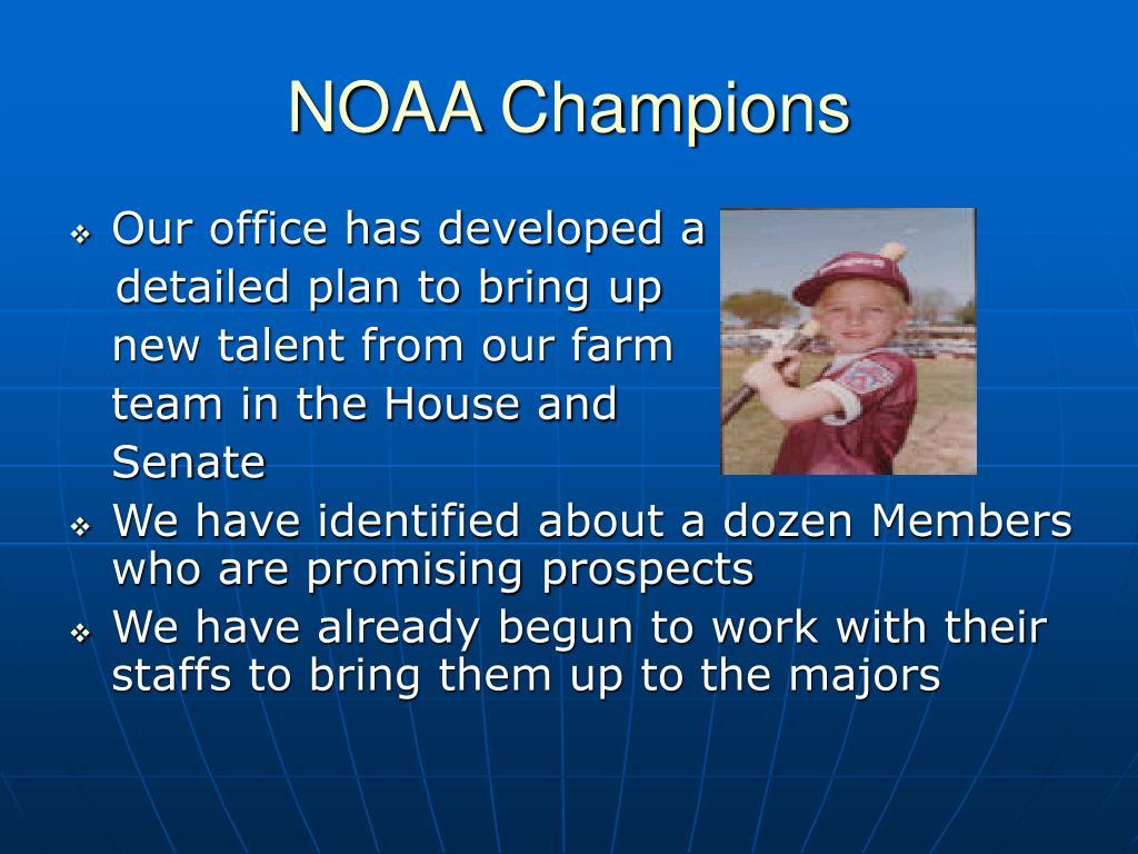 NOAA Champions