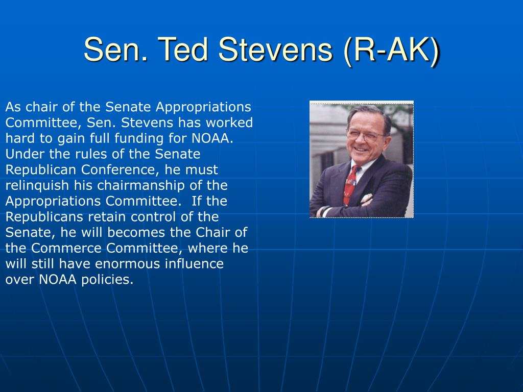 Sen. Ted Stevens (R-AK)