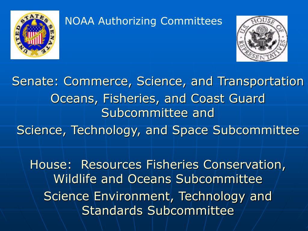Senate: Commerce, Science, and Transportation