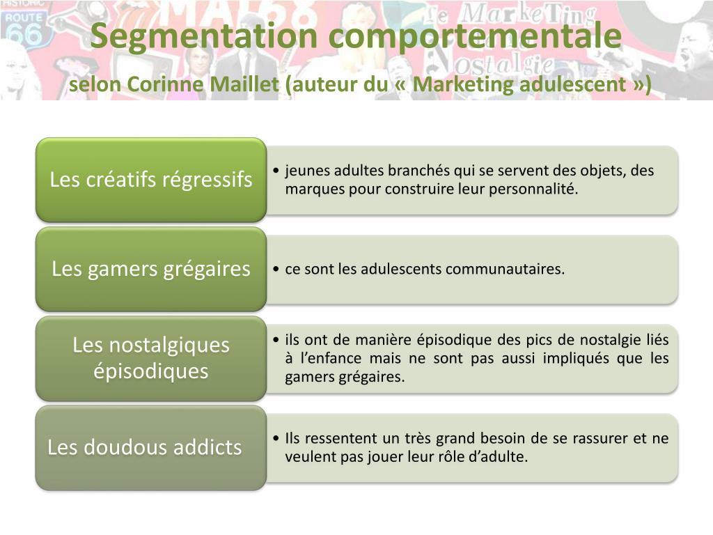Segmentation comportementale