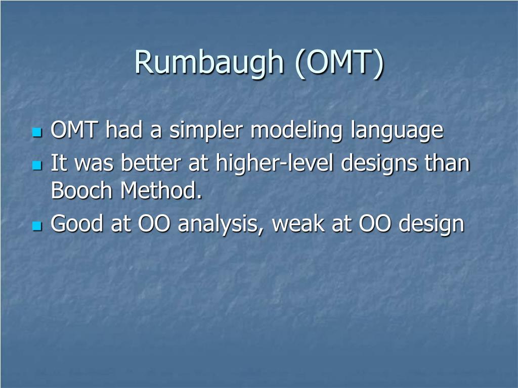Rumbaugh (OMT)