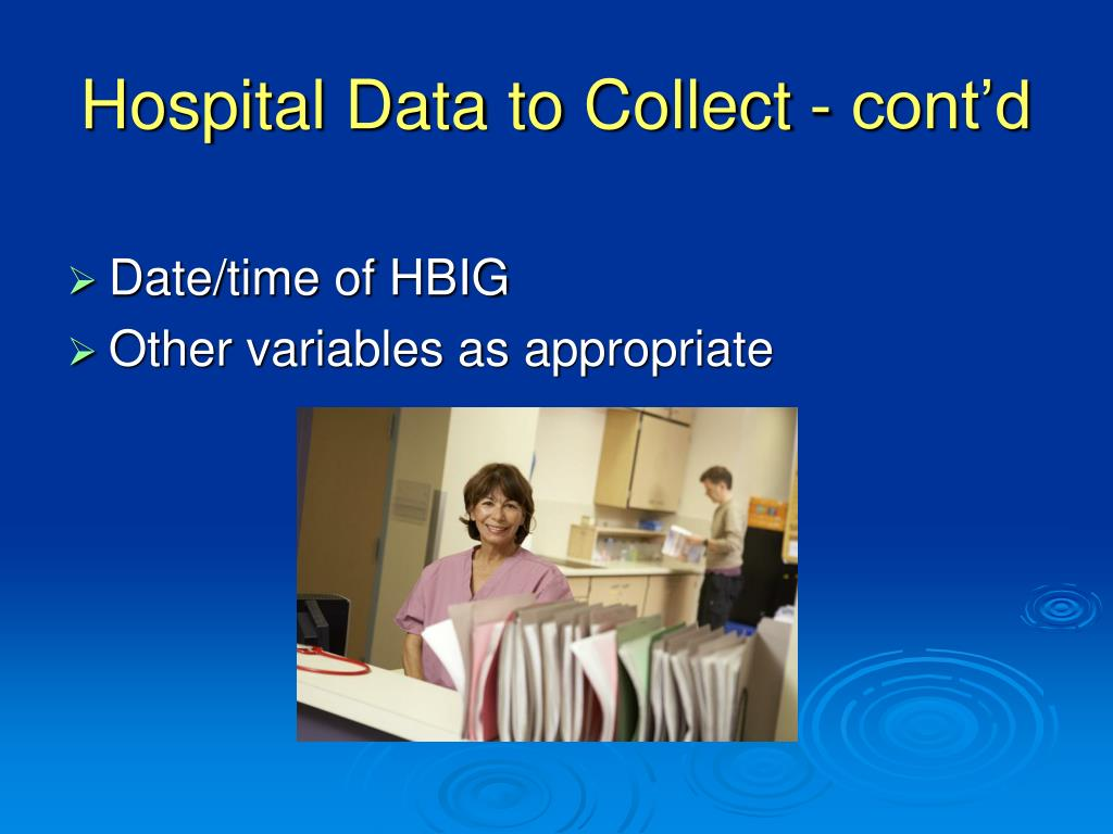 Hospital Data to Collect