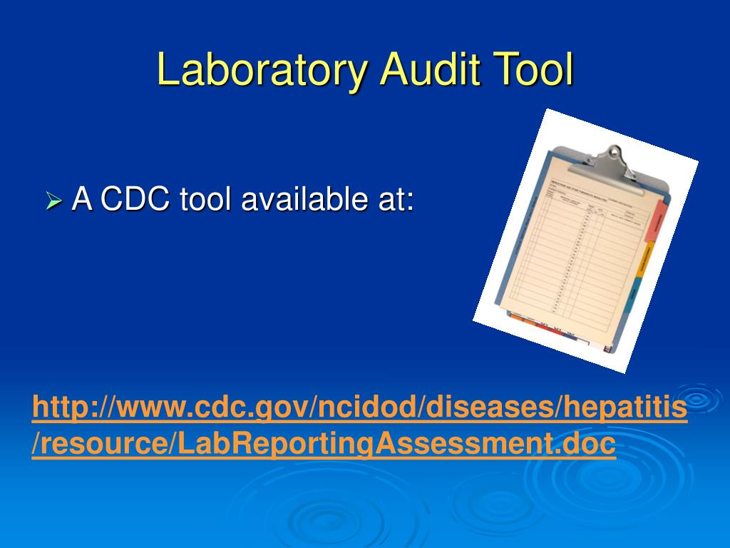 Laboratory Audit Tool