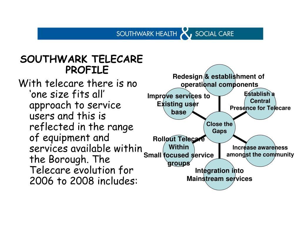 SOUTHWARK TELECARE PROFILE
