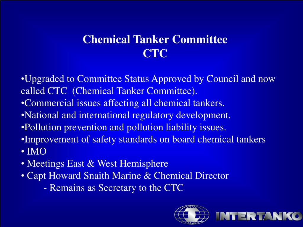 Chemical Tanker Committee