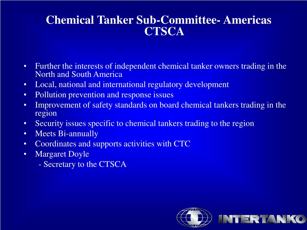 Chemical Tanker Sub-Committee- Americas  CTSCA