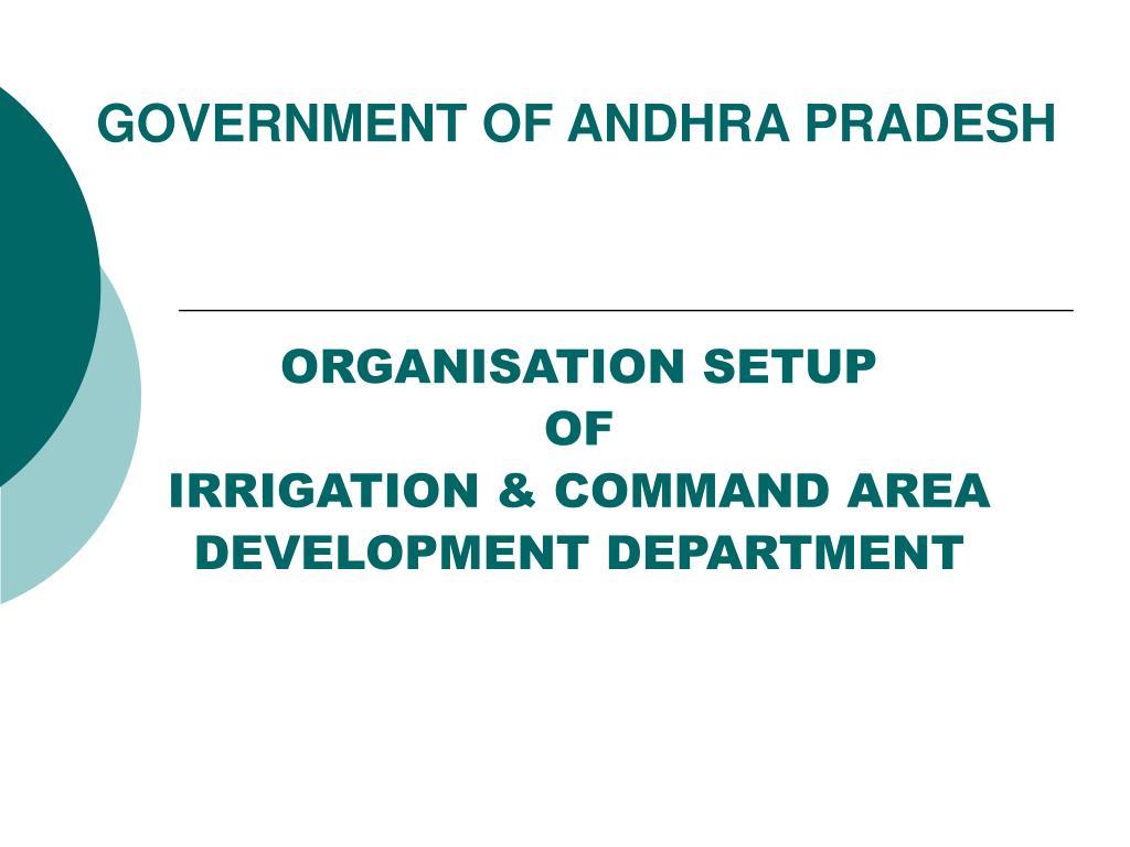 GOVERNMENT OF ANDHRA PRADESH