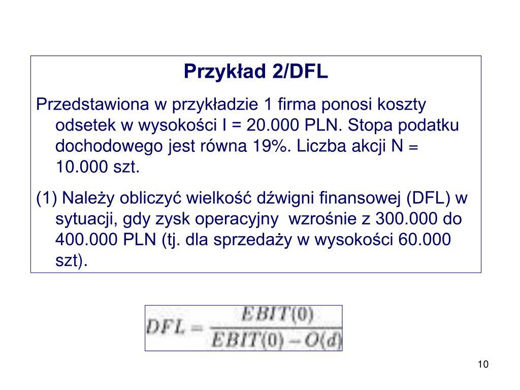 Przykład 2/DFL