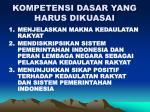 kompetensi dasar yang harus dikuasai4