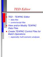 ted editor