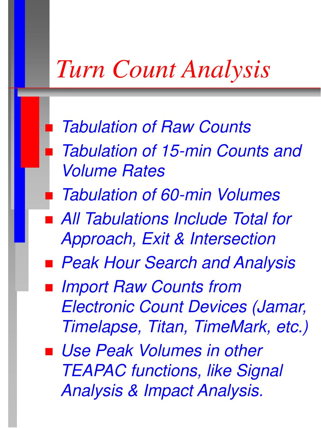 Turn Count Analysis
