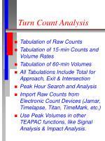 turn count analysis