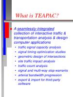 what is teapac
