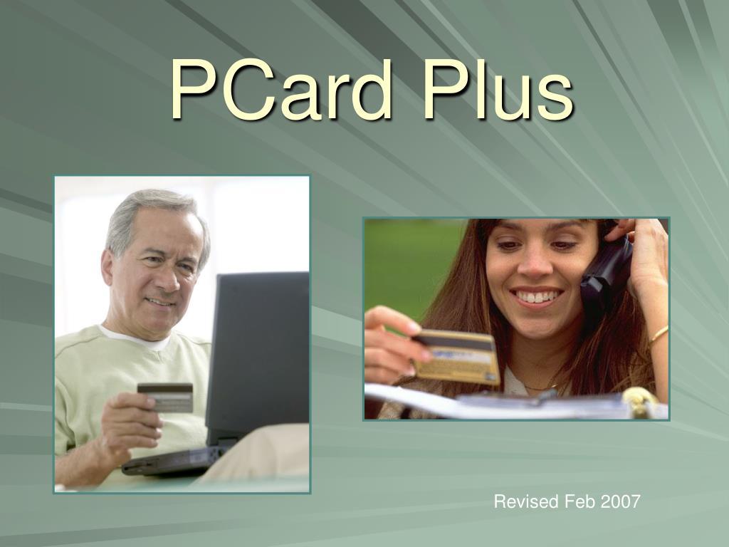 PCard Plus