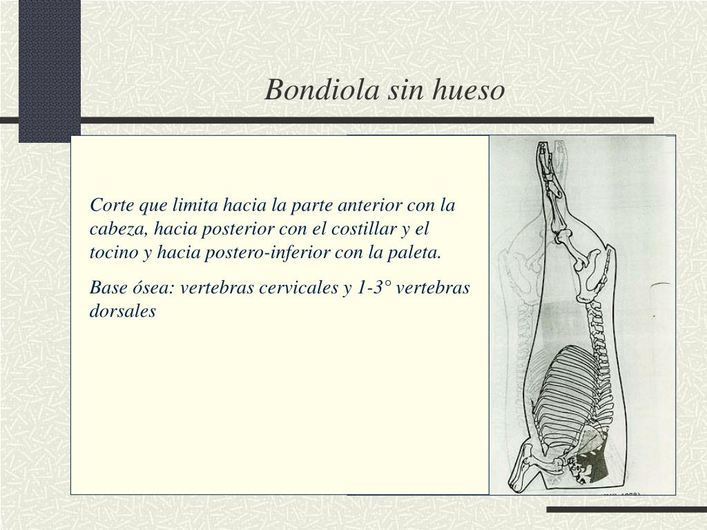 Bondiola sin hueso