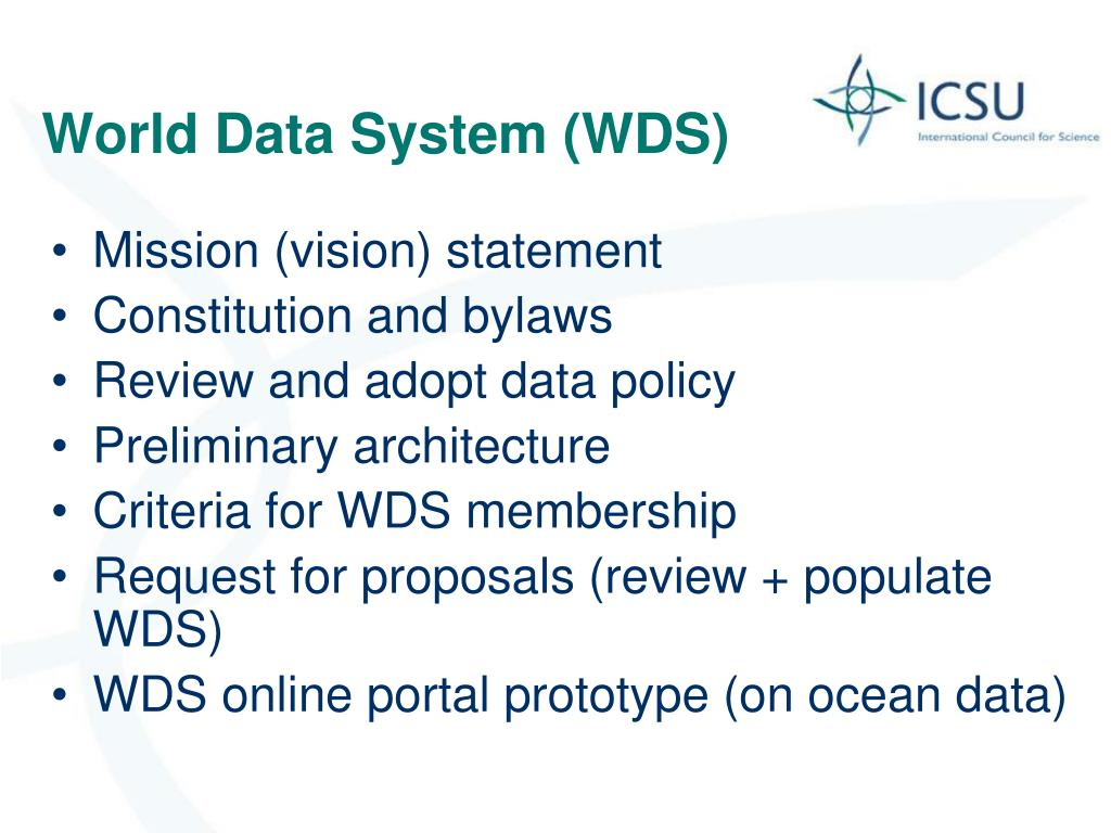 World Data System (WDS)
