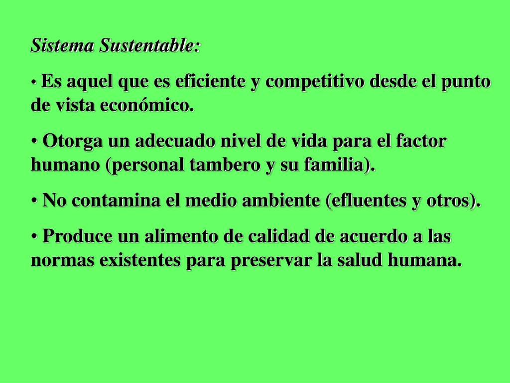 Sistema Sustentable: