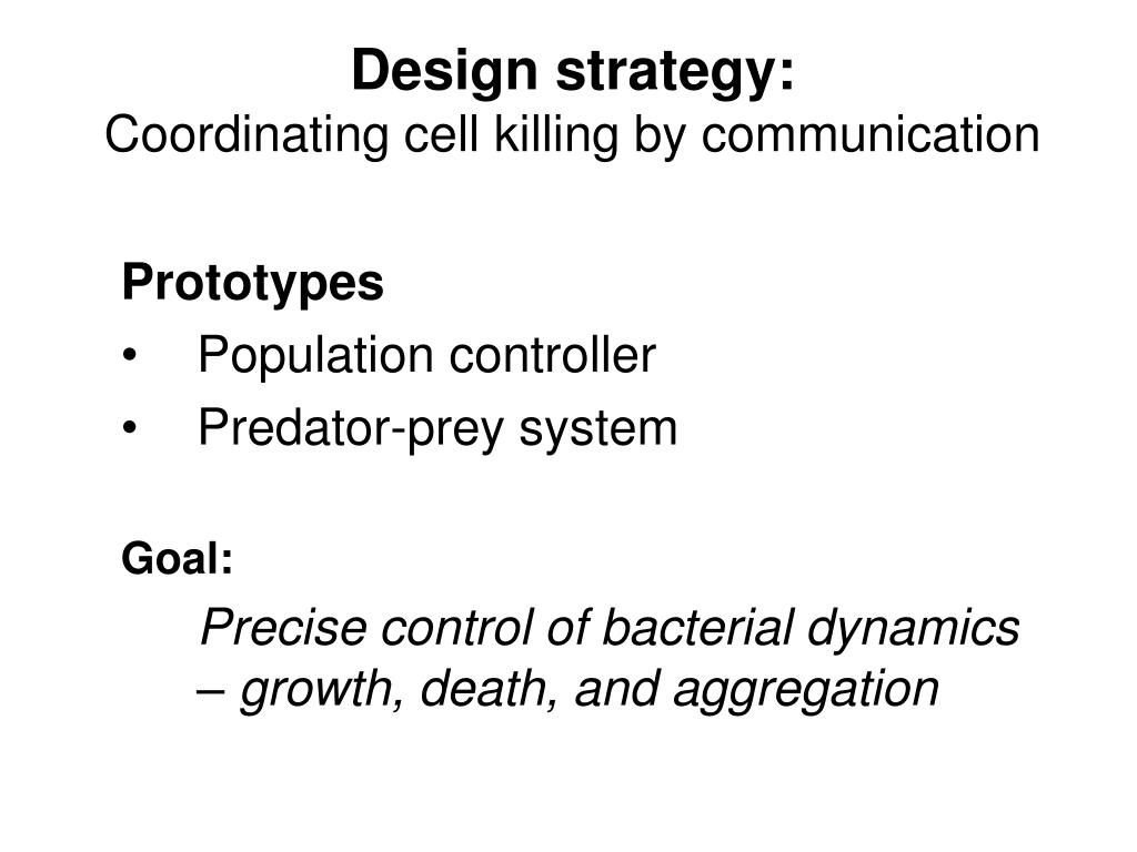 Design strategy: