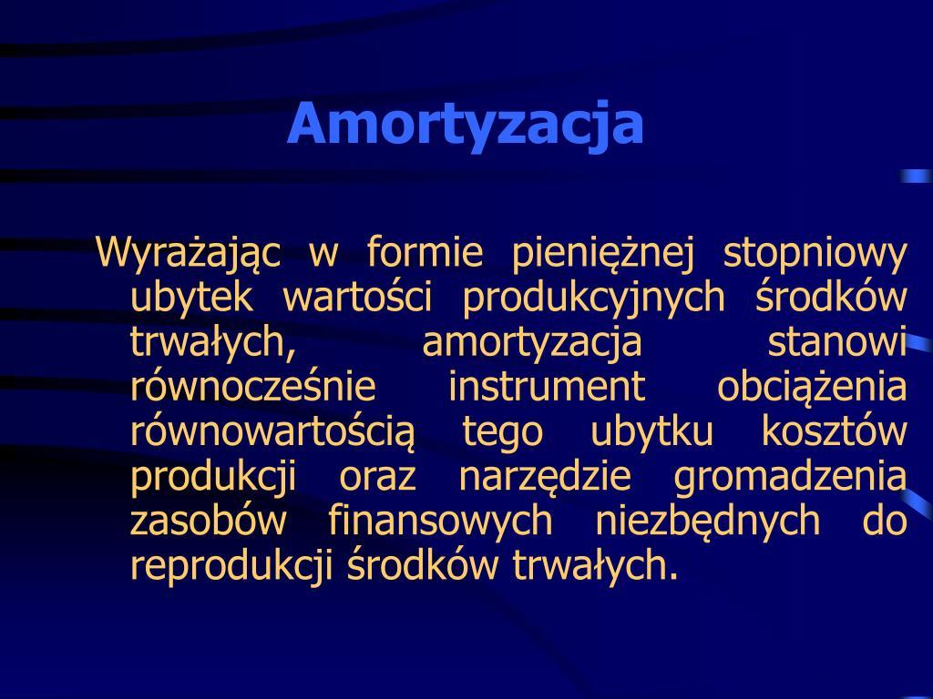 Amortyzacja
