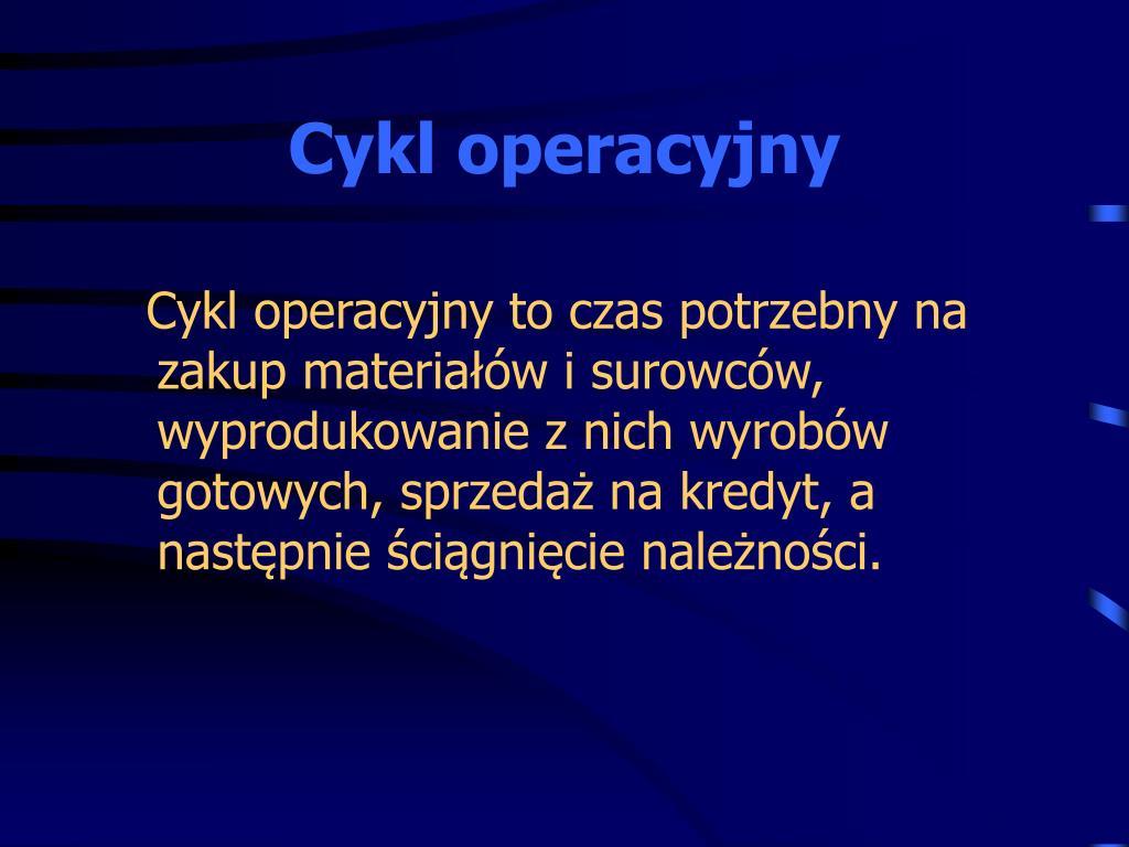 Cykl operacyjny
