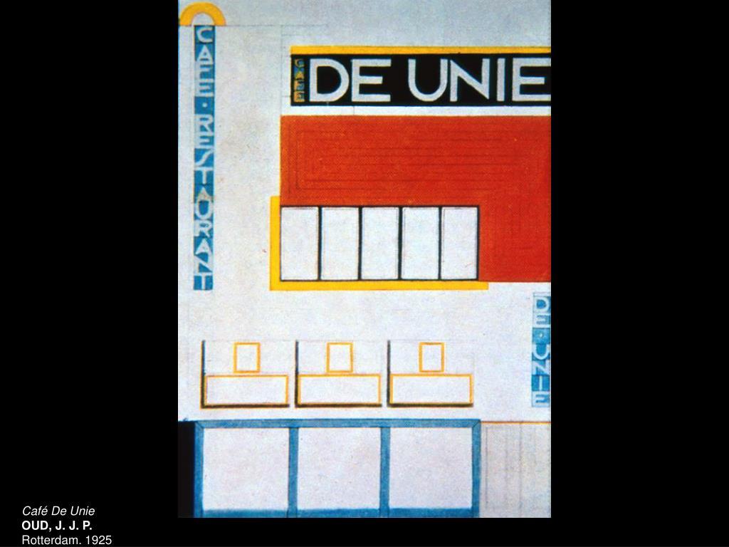 Café De Unie