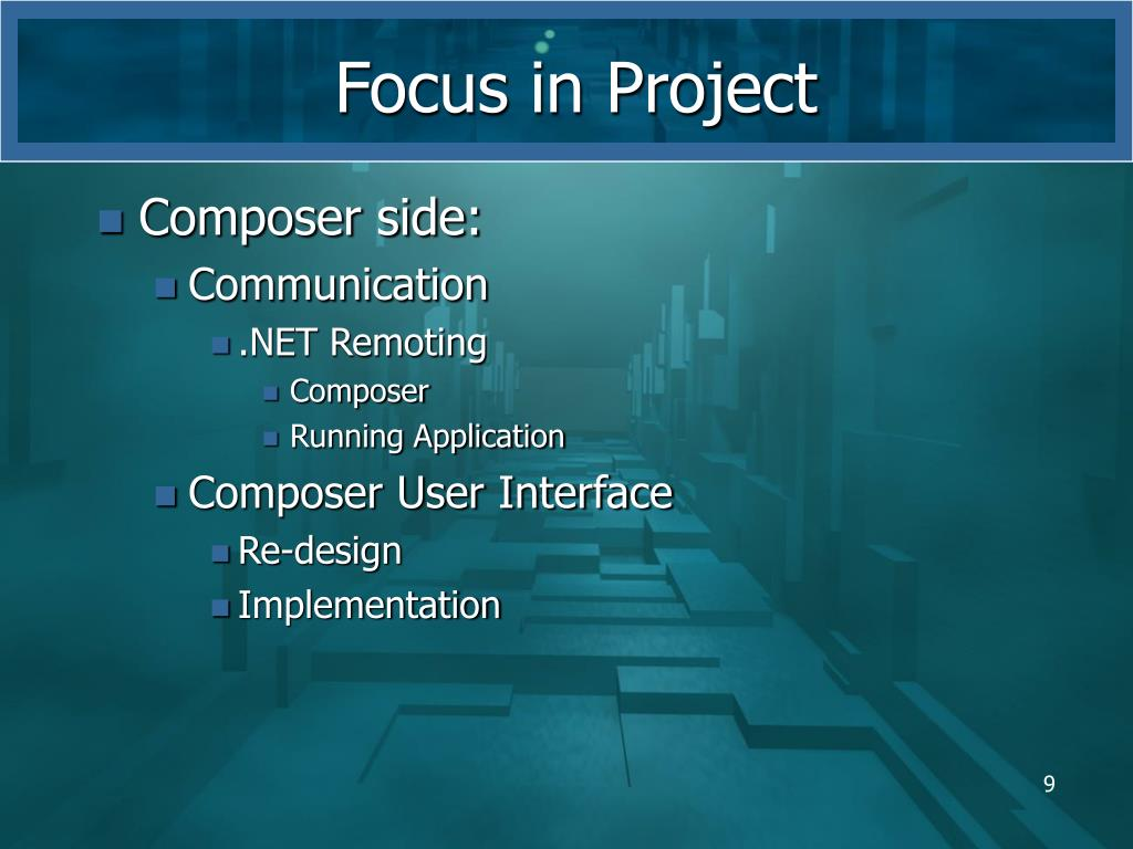 Focus in Project