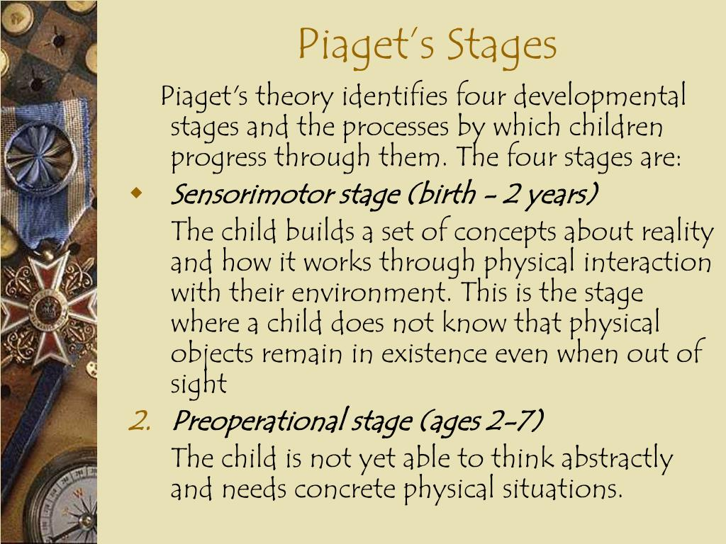 Piaget's Stages