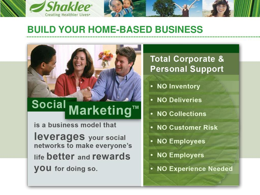 BUILD YOUR HOME-BASED BUSINESS