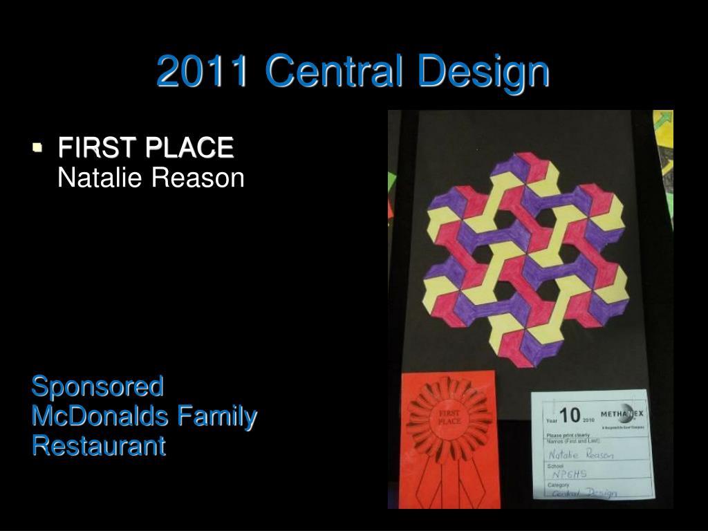 2011 Central Design