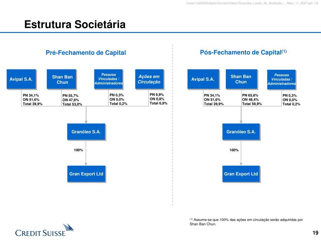Estrutura Societária