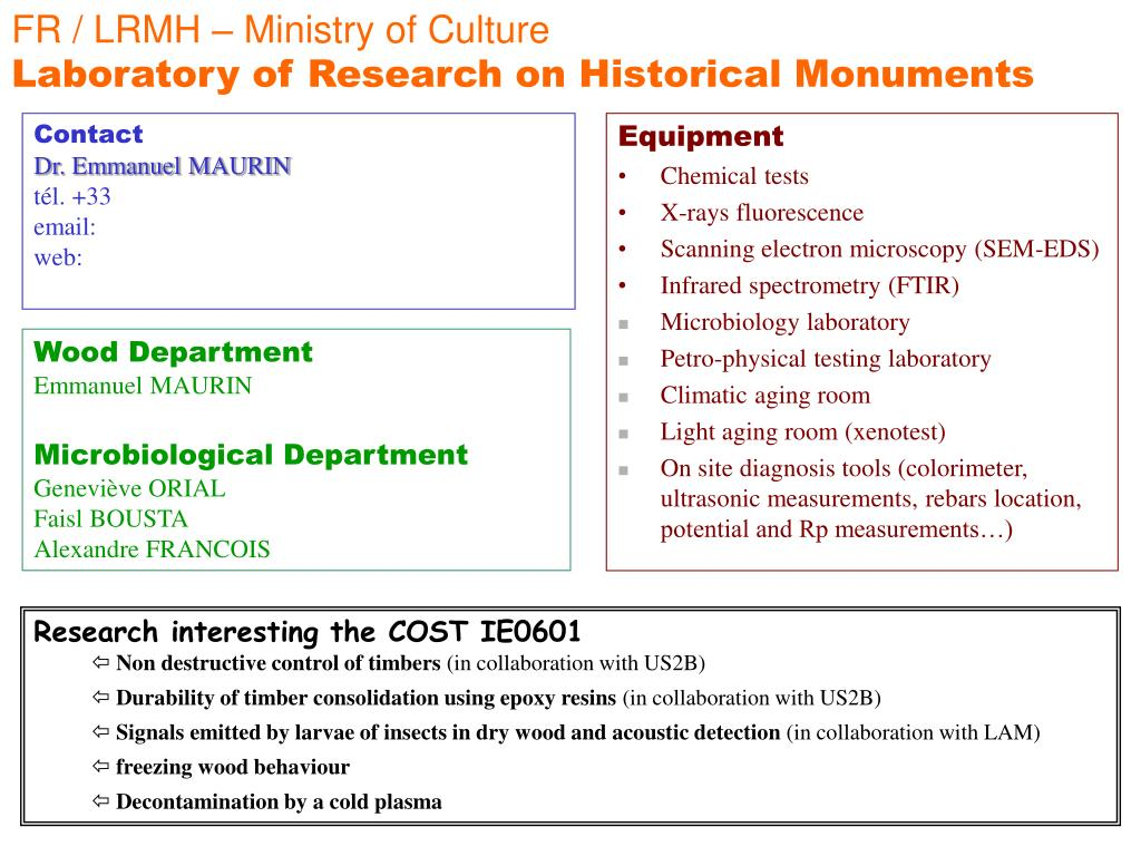FR / LRMH – Ministry of Culture