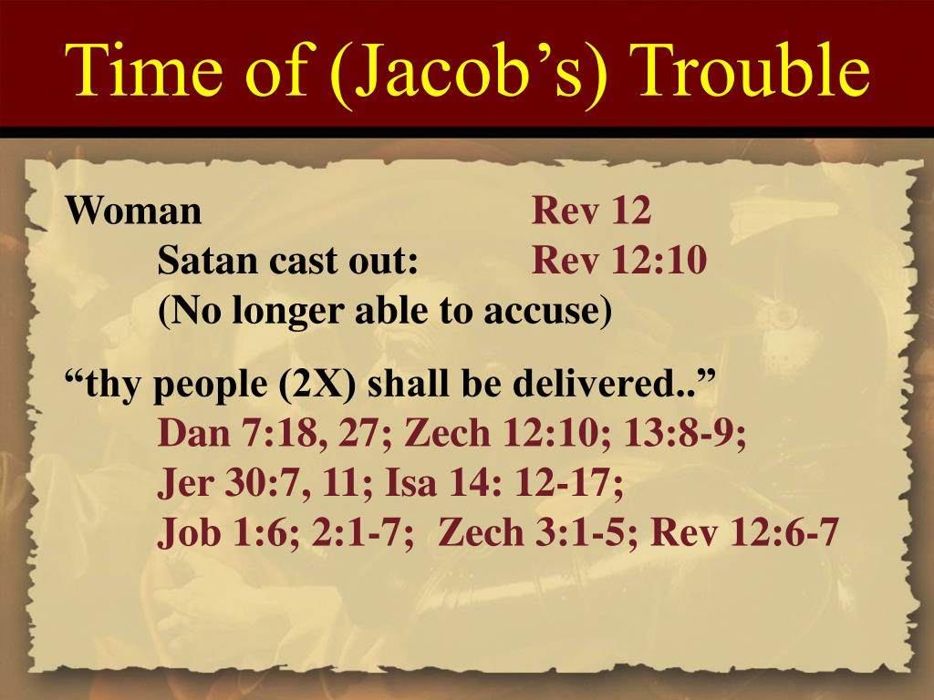 Time of (Jacob's) Trouble