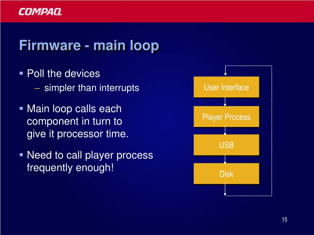 Firmware - main loop