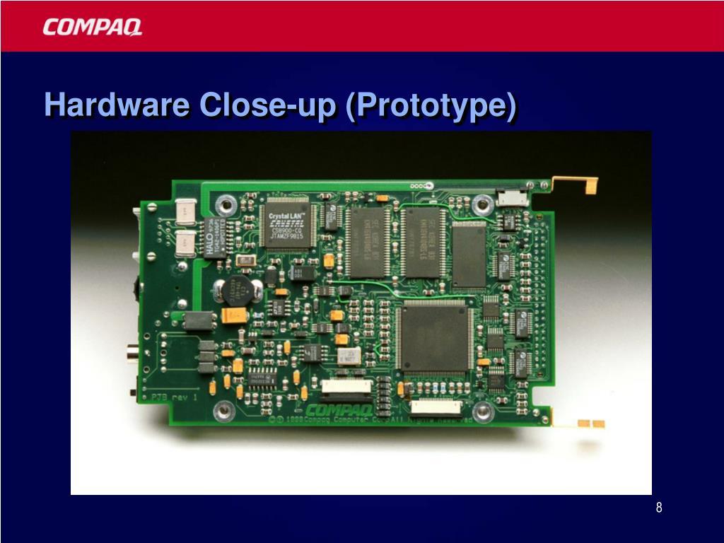 Hardware Close-up (Prototype)