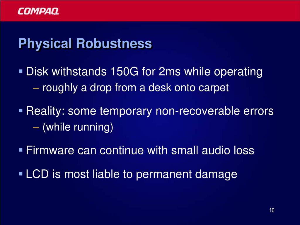 Physical Robustness