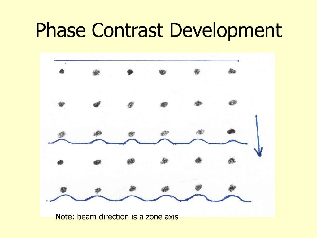 Phase Contrast Development