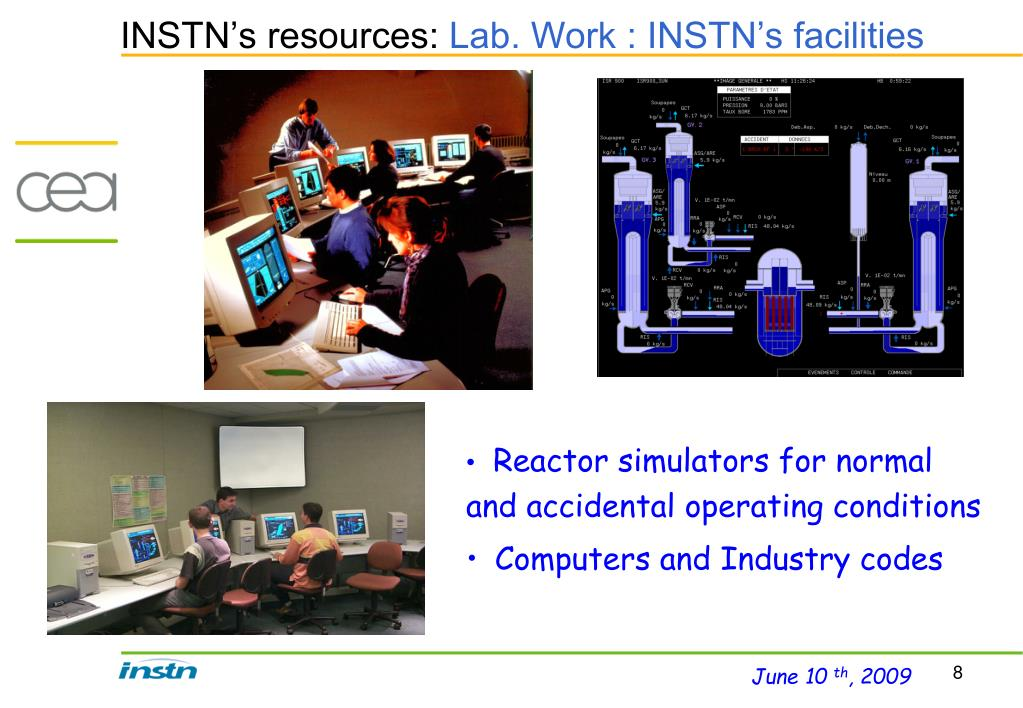 INSTN's resources: