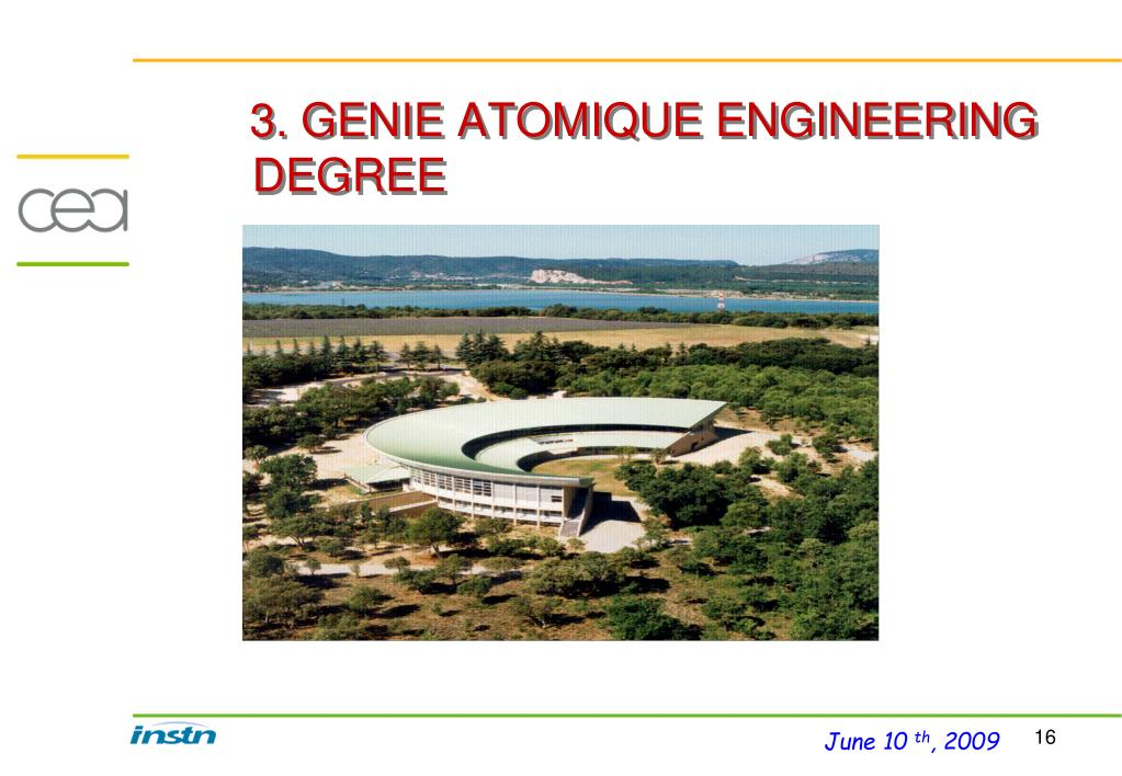 3. GENIE ATOMIQUE ENGINEERING DEGREE