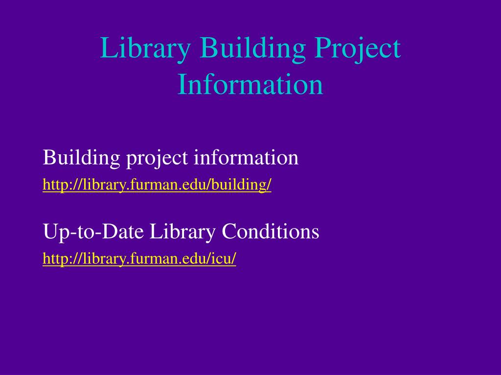 Library Building Project