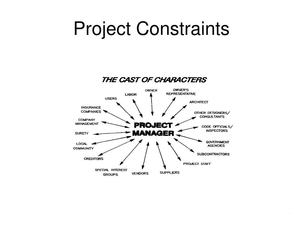 Project Constraints