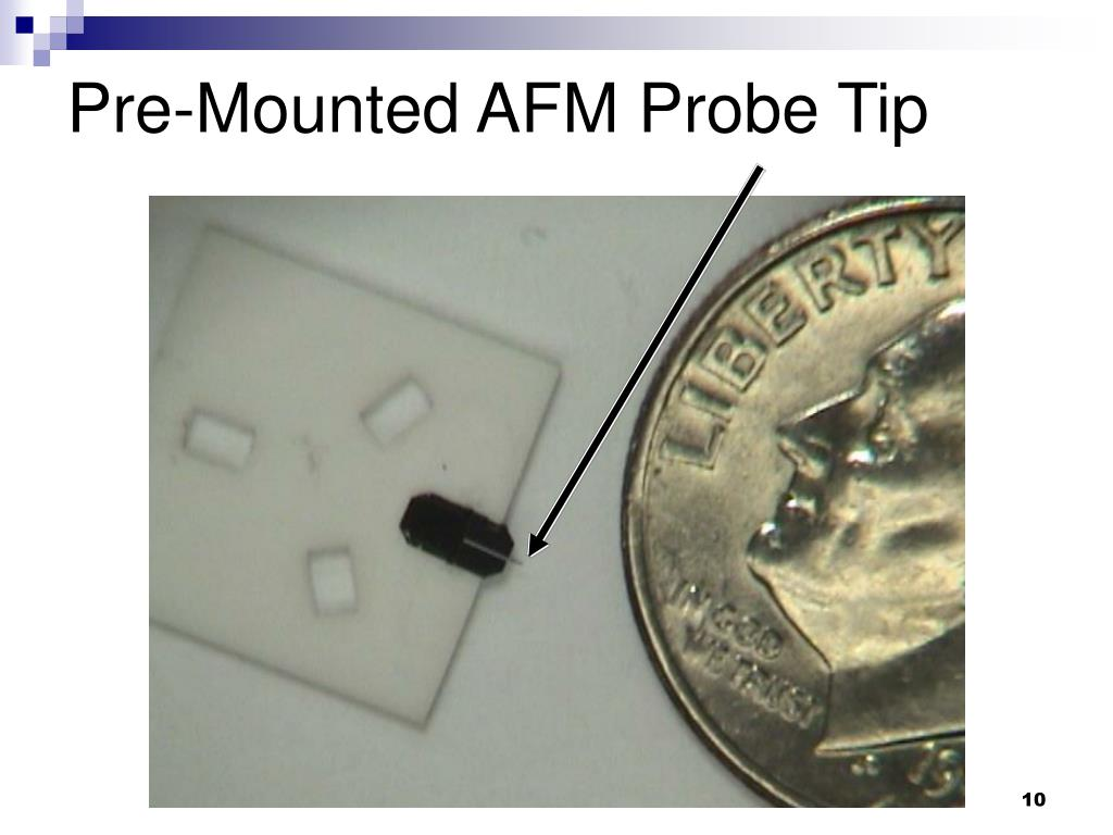 Pre-Mounted AFM Probe Tip