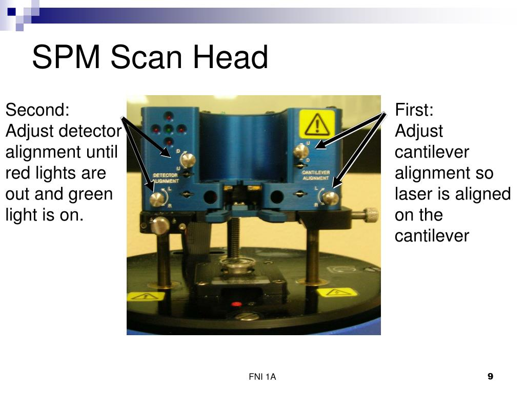 SPM Scan Head