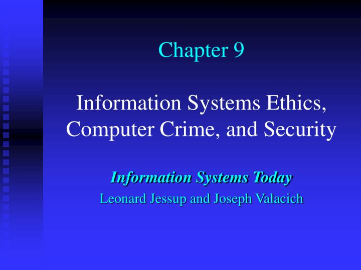 ethics and information security essay