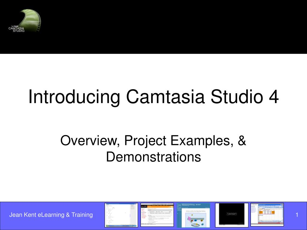 Introducing Camtasia Studio 4