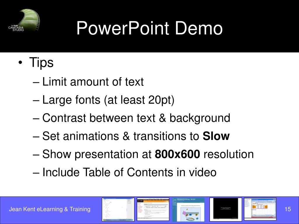 PowerPoint Demo