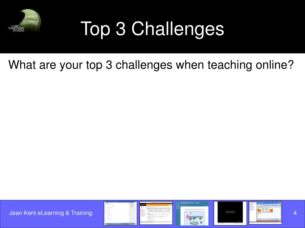 Top 3 Challenges