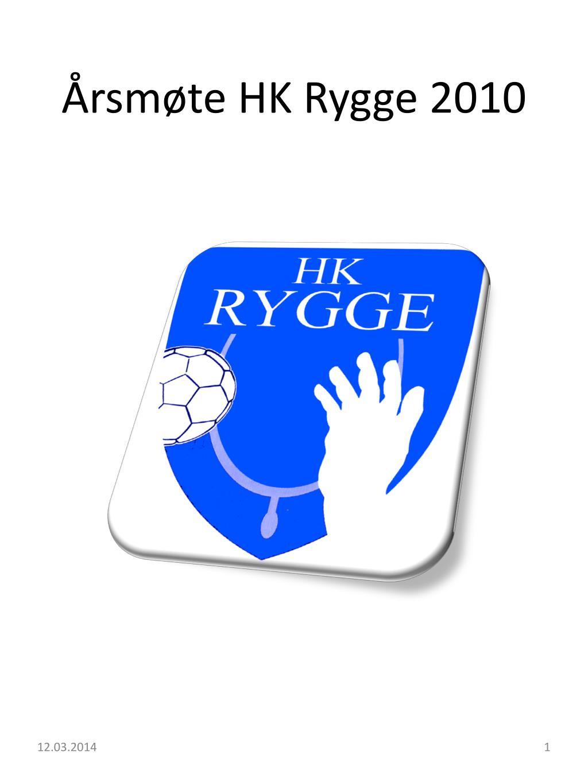 Årsmøte HK Rygge 2010
