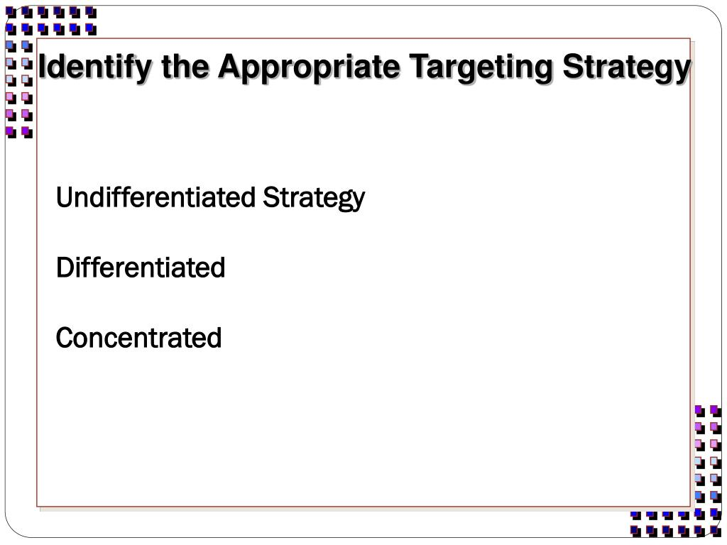 Undifferentiated Strategy