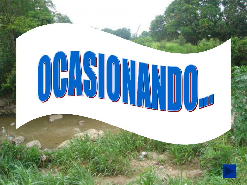 OCASIONANDO...